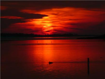 Mashpee, South Cape Beach Cape Cod vacation rental - End of the day