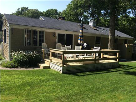 South Yarmouth/Bass River Cape Cod vacation rental - Site out back in a fenced in yard, take an outdoor shower!