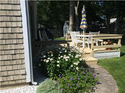 South Yarmouth/Bass River Cape Cod vacation rental - Enjoy the folower Gardens and privacy, grill after the beach