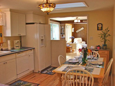 South Yarmouth/Bass River Cape Cod vacation rental - Newly renovated kitchen with new 2014 appliances and skylight