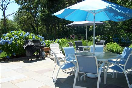 West Harwich Cape Cod vacation rental - Beautiful gardens, private setting with large bluestone patio.