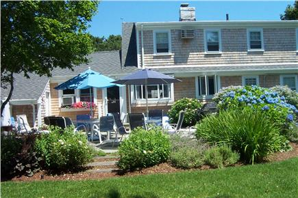 West Harwich Cape Cod vacation rental - Back from beach? Sit and enjoy the day - Have a cookout!