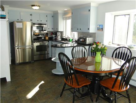 West Harwich Cape Cod vacation rental - Modern kitchen with stainless steel appliances
