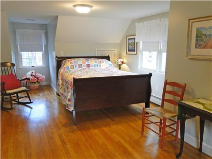 West Harwich Cape Cod vacation rental - Upstairs spacious queen bedroom