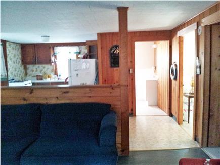 North Eastham Cape Cod vacation rental - Living Room/Bathroom/Bedroom view