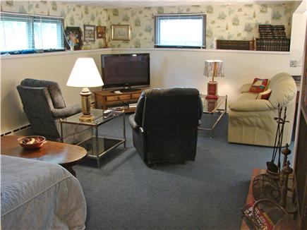 South Chatham Cape Cod vacation rental - Separate room downstairs w/ flat screen tv, & bar area