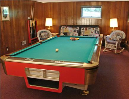 South Chatham Cape Cod vacation rental - Entertain for hours in the pool table room