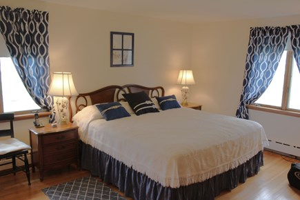 South Chatham Cape Cod vacation rental - Large master king bedroom with private bath and king bed