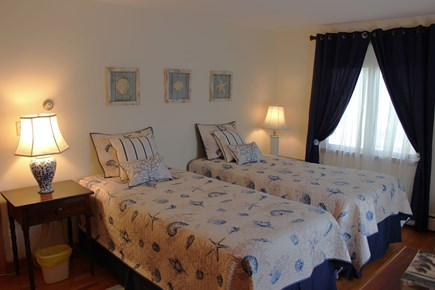South Chatham Cape Cod vacation rental - 3rd Main flr bdrm extra long twins that can be made into a king