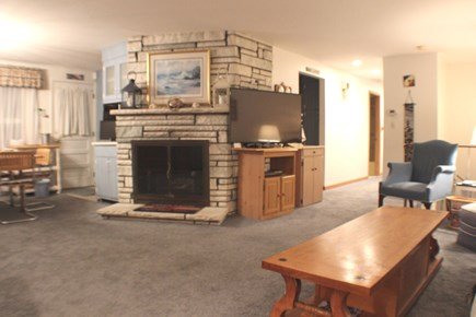 South Chatham Cape Cod vacation rental - Another Look at Living Area with TV