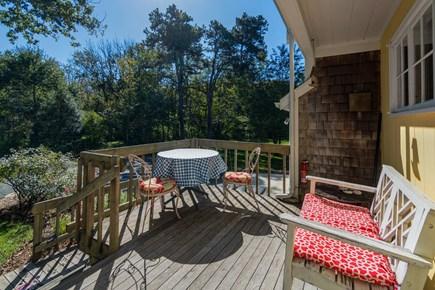 Dennis Village Cape Cod vacation rental - Back deck