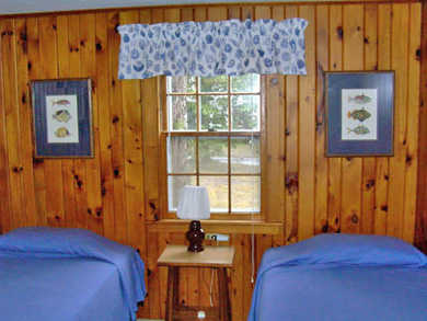 Eastham Cape Cod vacation rental - Cozy twin bedroom