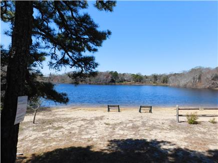 Eastham Cape Cod vacation rental - Beach and pond