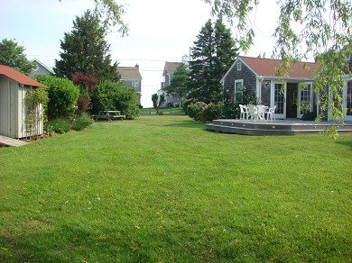 Barnstable Cape Cod vacation rental - Back Yard