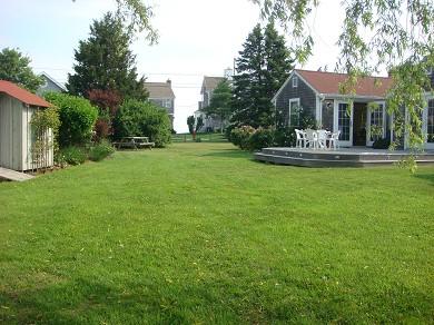 Barnstable Cape Cod vacation rental - Back Yard