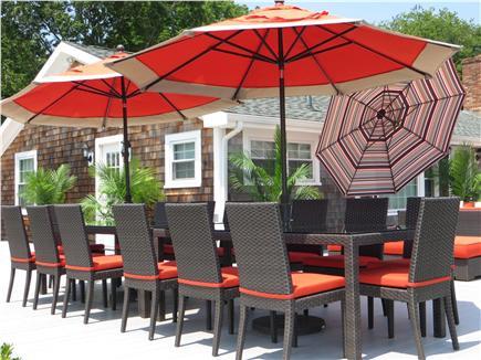 Kingston MA vacation rental - Dine finer than fine under the sunshine!
