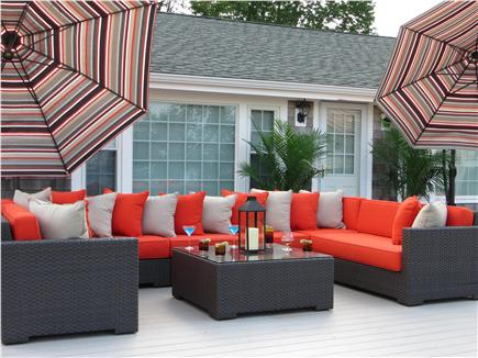Kingston MA vacation rental - Lounging on your infinity deck only gets respect!