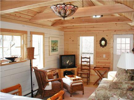 Marstons Mills Marstons Mills vacation rental - Beamed sitting area, comfy, cozy, secluded
