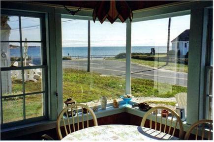 Wellfleet Cape Cod vacation rental - Corner Picture Window