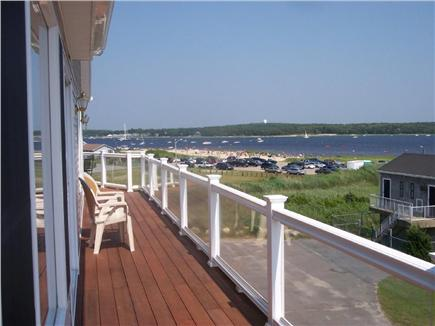 Wareham MA vacation rental - Second floor ocean view deck
