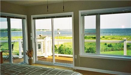 Wareham MA vacation rental - Ocean view from second floor master bedroom