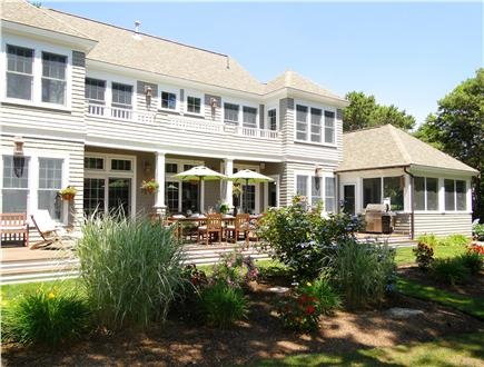 New Seabury, Maushop Village New Seabury vacation rental - Private, lovely home with two decks, mature gardens