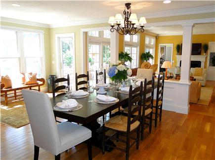 New Seabury, Maushop Village New Seabury vacation rental - Dining room – elegant and bright