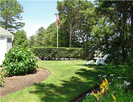 New Seabury, Maushop Village New Seabury vacation rental - Side yard with outdoor shower