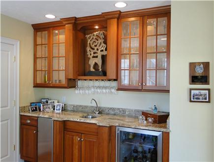 New Seabury, Maushop Village New Seabury vacation rental - Wet Bar off LR, Deck and MBR
