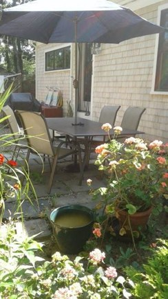 Eastham Cape Cod vacation rental - Terrace
