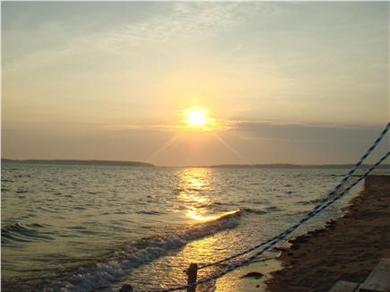 Wellfleet Cape Cod vacation rental - Gorgeous sunsets nightly over Wellfleet Harbor!