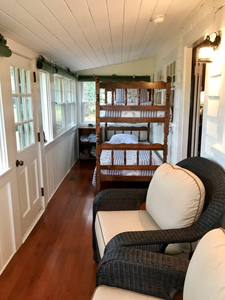 Wellfleet Cape Cod vacation rental - Bright and cheery sleeping porch