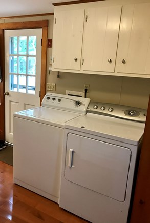 Wellfleet Cape Cod vacation rental - Washer and dryer is a must if traveling with children.