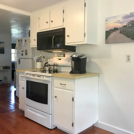 Wellfleet Cape Cod vacation rental - Cooking area with new stove
