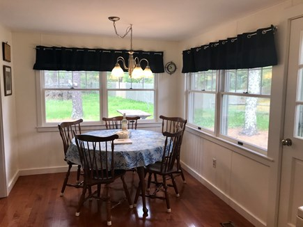 Wellfleet Cape Cod vacation rental - Bright and sunny dining area