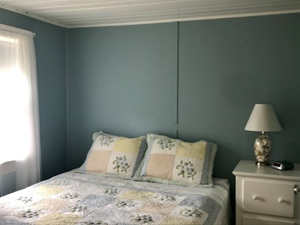 Wellfleet Cape Cod vacation rental - Queen bedroom with own newly remodeled half bath