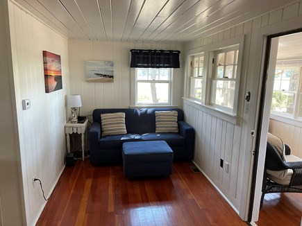 Wellfleet Cape Cod vacation rental - Living room with flat screen and cable