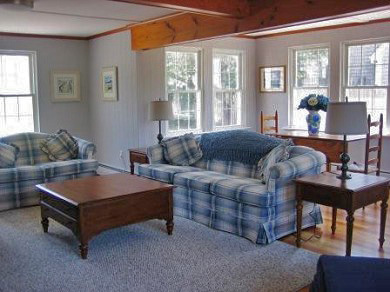 Harwich, Chatham Cape Cod vacation rental - Bright, airy and spacious family room