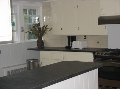 Harwich, Chatham Cape Cod vacation rental - All new stainless appliances in well-lit and comfortable kitchen