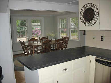 Harwich, Chatham Cape Cod vacation rental - View from kitchen to dining area