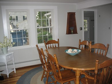 Harwich, Chatham Cape Cod vacation rental - Charming dining room with bright and airy Cape feel