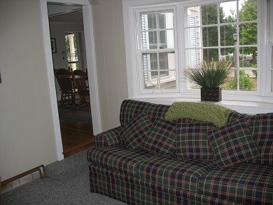 Harwich, Chatham Cape Cod vacation rental - Comfortable reading / tv room with queen sofa bed