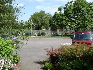 Harwichport Cape Cod vacation rental - Front door view