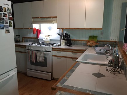 Eastham Cape Cod vacation rental - Fully equipped kitchen with gas stove.