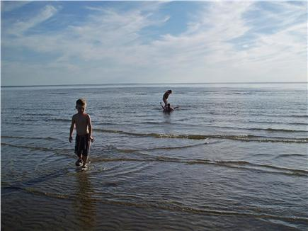 Eastham Cape Cod vacation rental - Beautiful Bay Beach perfect for low tide exploration
