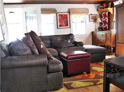 Eastham Cape Cod vacation rental - Comfy living room, with TV/DVD/Wii