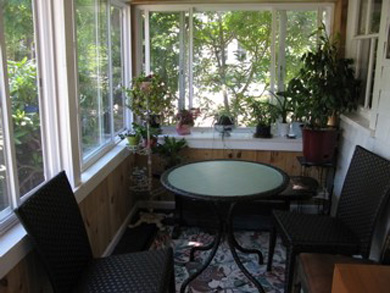 Eastham Cape Cod vacation rental - Sun porch for morning coffee