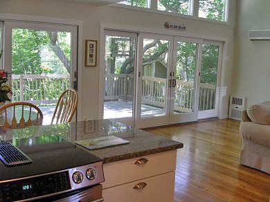 New Seabury, Mashpee New Seabury vacation rental - Two-story wall of glass over-looking a beautiful salt water marsh