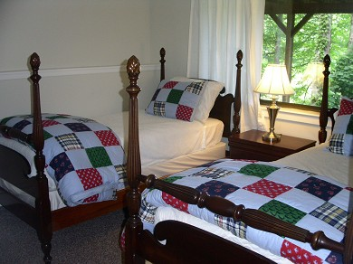 New Seabury, Mashpee New Seabury vacation rental - Twin bedroom with full views of salt-water marsh
