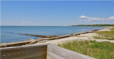 Hyannis Cape Cod vacation rental - Breathtaking views from the deck